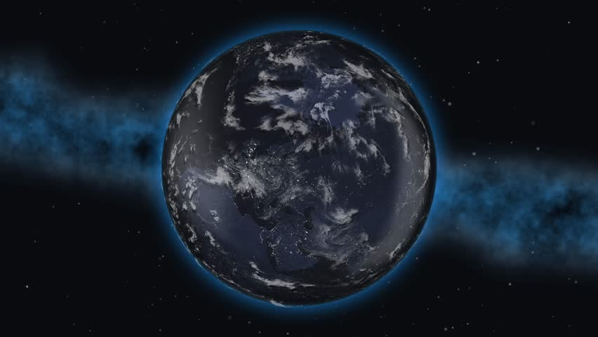 World planet country Germany flag 3D 4K