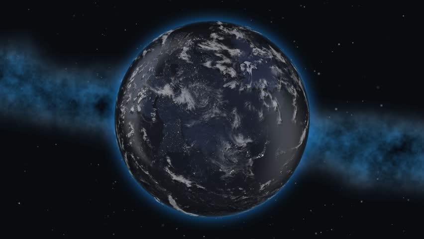 World planet country United Kingdom England flag 3D 4K