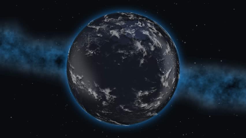 World planet country Japan Japanese flag 3D 4K
