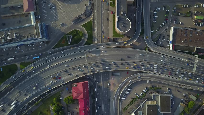 City roads aerial view | Shutterstock HD Video #1017839767