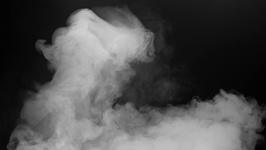 Thick Cloud Fog Smoke Video Footage Realistic Effect | Shutterstock HD Video #1017933655