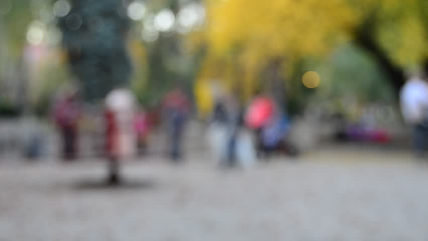 Kids playground. Blurred soft focus    Shutterstock HD Video #1017974896