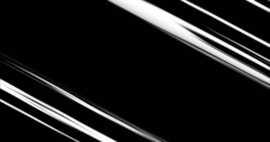 Comic Speed lines in Black&White. 4 different action speedline inspired by japanese Anime, diagonal, horizontal, vertical anda radial.