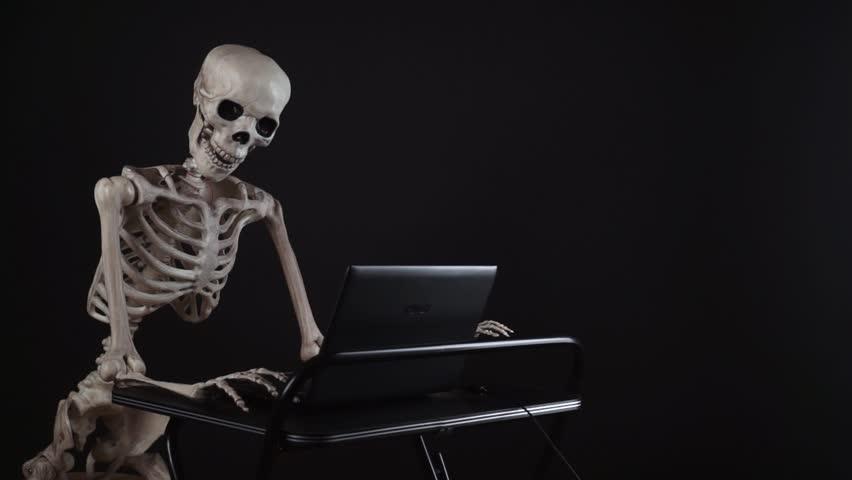 для скелет он ждал картинка квас