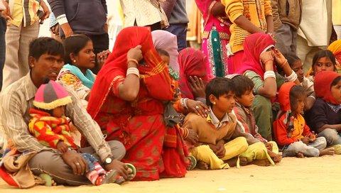 poor people in village Rajasthan India 25th Jun 2018