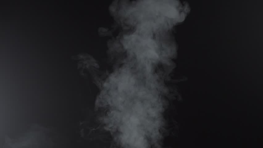 White smoky cloud of cigarette, 4k #1018160113