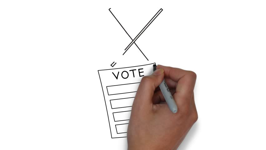 usa vote elections animation Royalty-Free Stock Footage #1018224784
