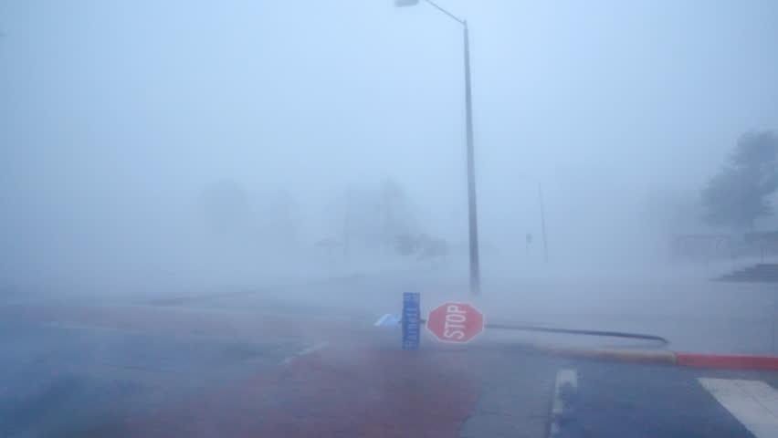 Hurricane Florence Eyewall In Wilmington NC #1018250086