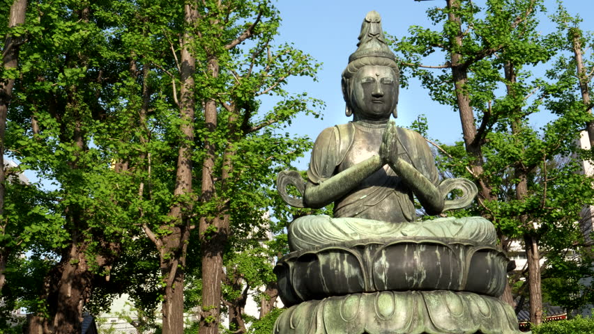 Zoom In On A Buddha Stock Footage Video 100 Royalty Free 1018464355 Shutterstock