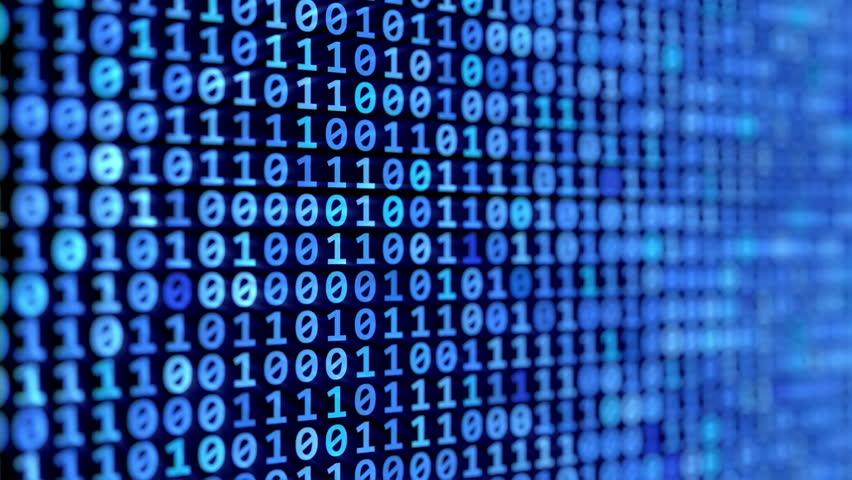 Binary code stream | Shutterstock HD Video #1018618420