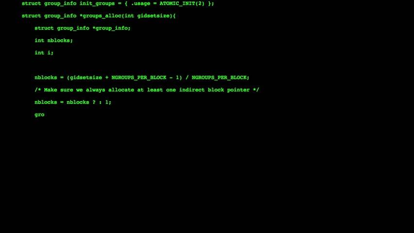 Video of a hacker entering code into a terminal. | Shutterstock HD Video #1018662205