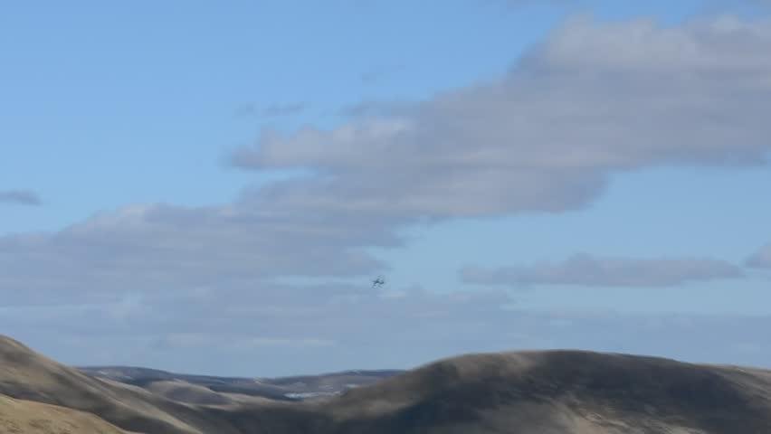 British Tornado fighter jet low level flying