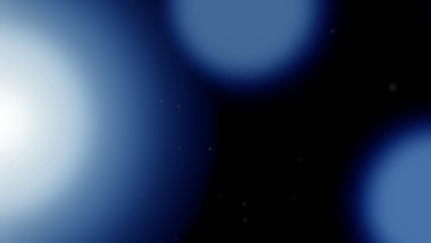 Blue circles floating around in a motion background. | Shutterstock HD Video #1018791868