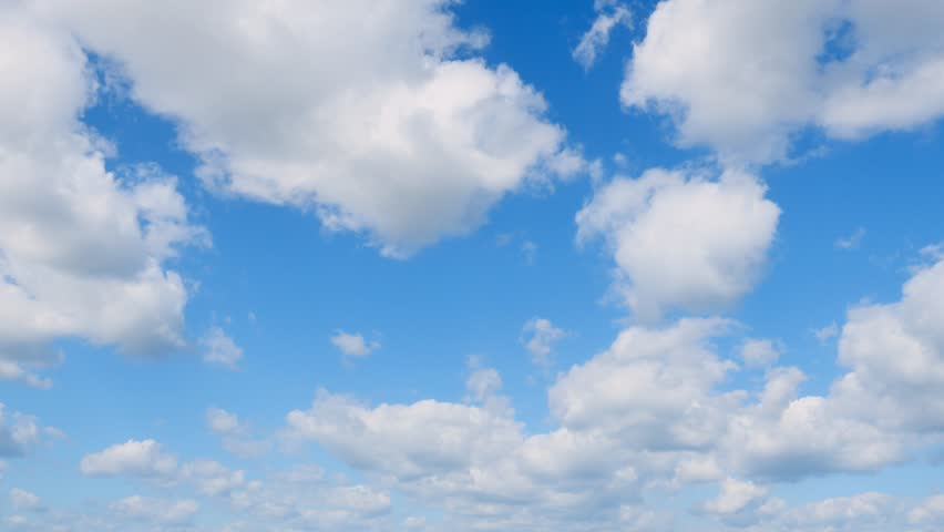 The clear sky with a cloud | Shutterstock HD Video #1018853176