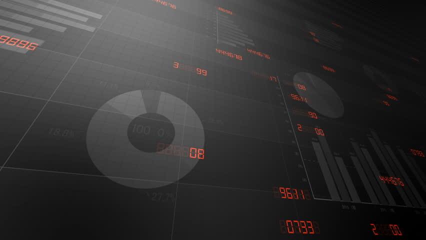 Business data graph chart bar CG image background. | Shutterstock HD Video #1018875742