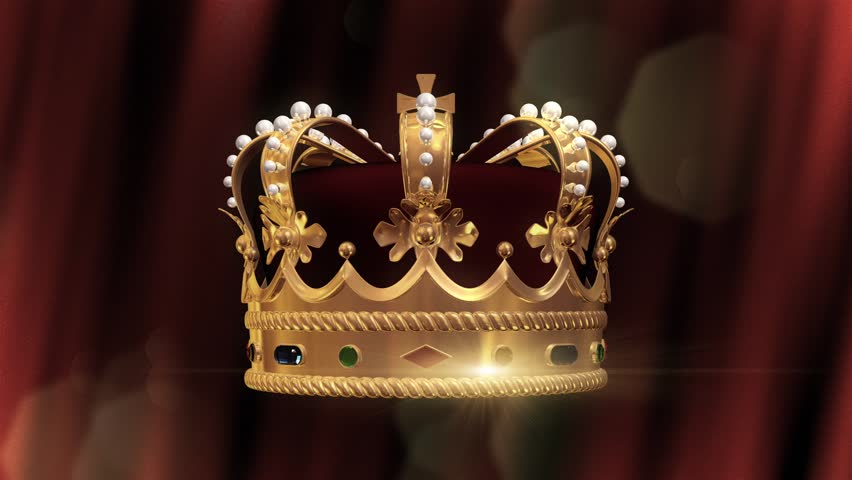 Crown and background