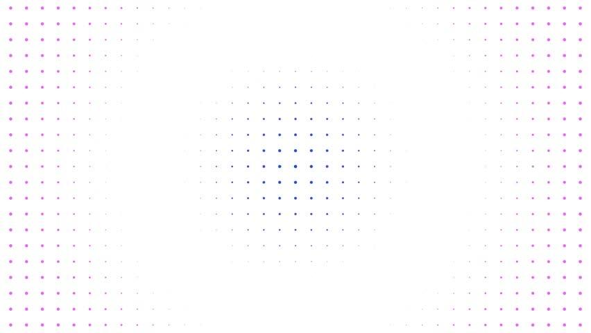 Abstract motion background loop digital dot modern | Shutterstock HD Video #1019097103