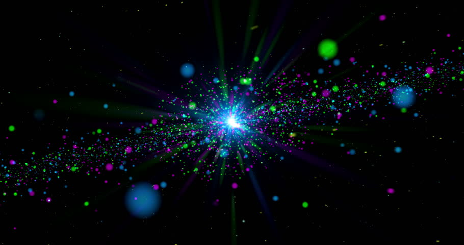 Color galaxy abstract background. Space travel concept seamless and loop animation. | Shutterstock HD Video #1019201050