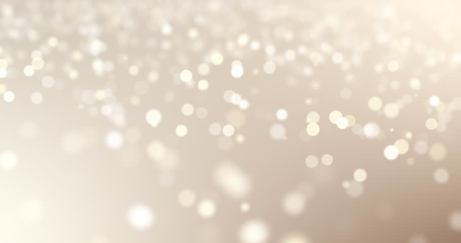 Wedding background  - seamless loop particle dust bokeh closeup