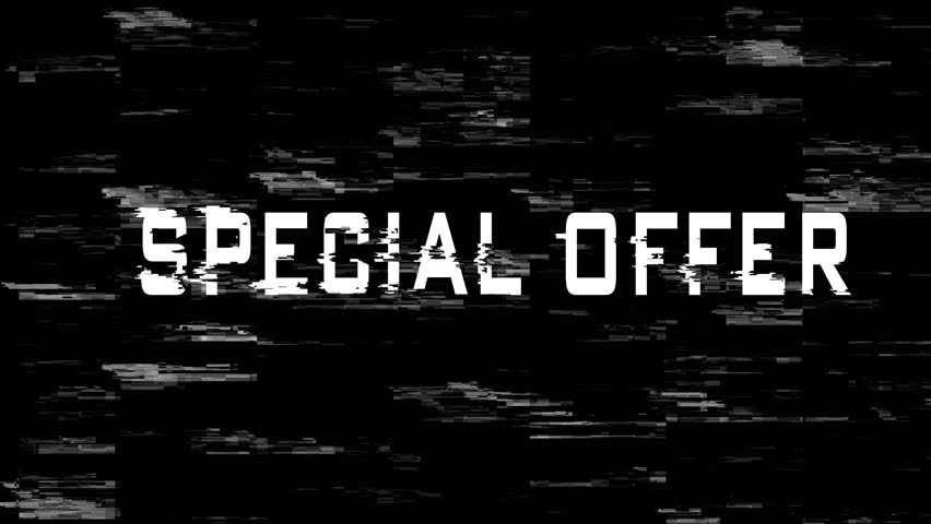 Special Offer sign on screen   Shutterstock HD Video #1019334778