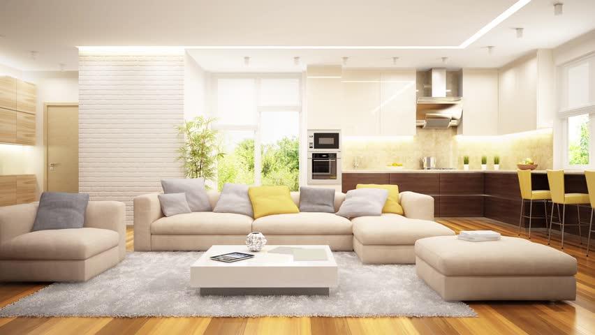 Creation of modern interior