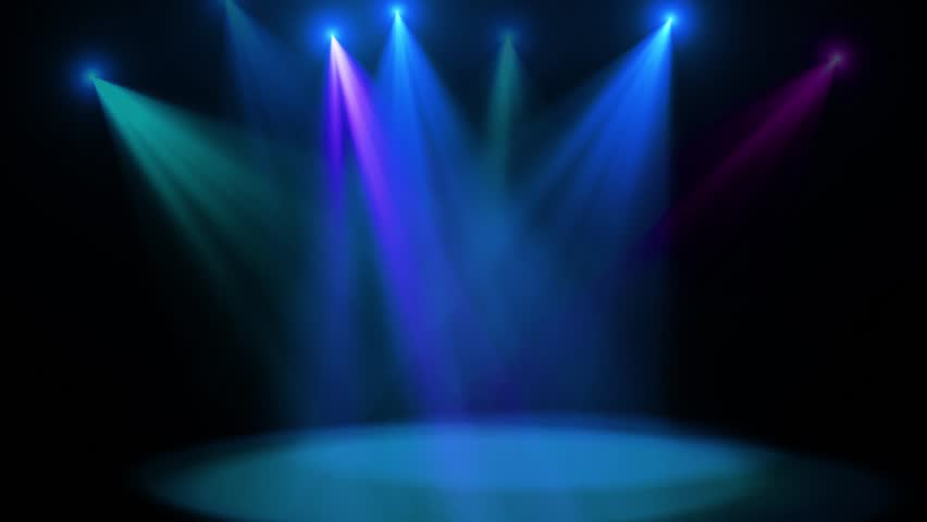 Party Disco Lights Stage Beam Background #1019343688