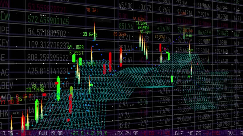 Website monitoring stock exchange prices, statistics, data. Dashboard interface. Electronic chart with stock market fluctuations, summary, annual reports, analysis,Stock Market Royalty-Free Stock Footage #1019398723