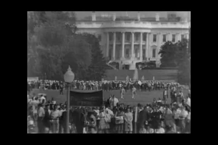 Washington, United States of America. August 1963. The civil rights march
