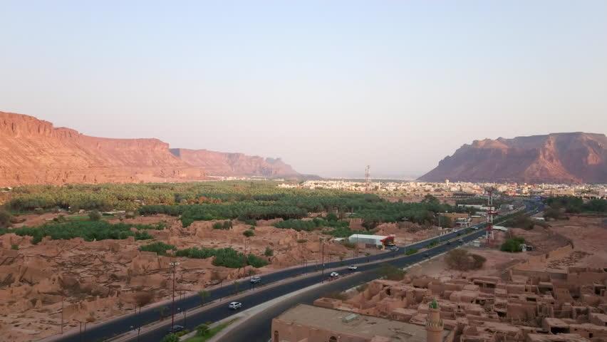 Al Ula town in Northwestern  Saudi Araba