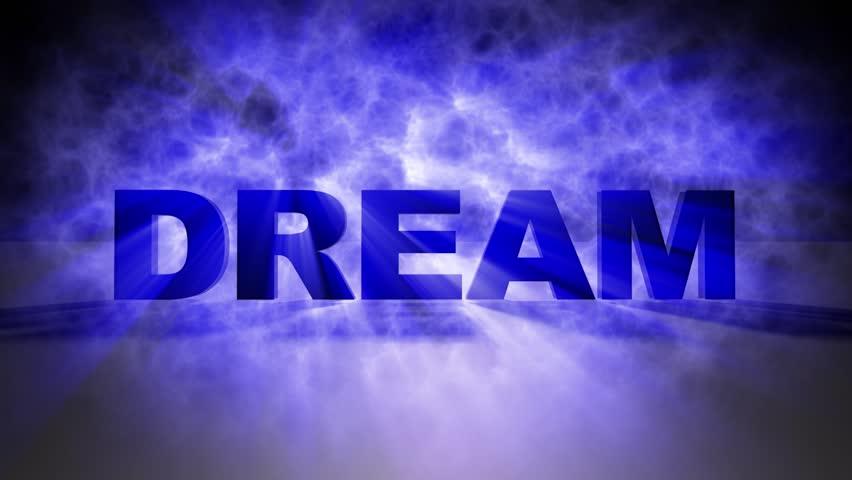 Dream text blue smoke | Shutterstock HD Video #1019562196