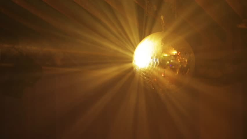 Disco ball at the concert reflecting lights | Shutterstock HD Video #1019944984