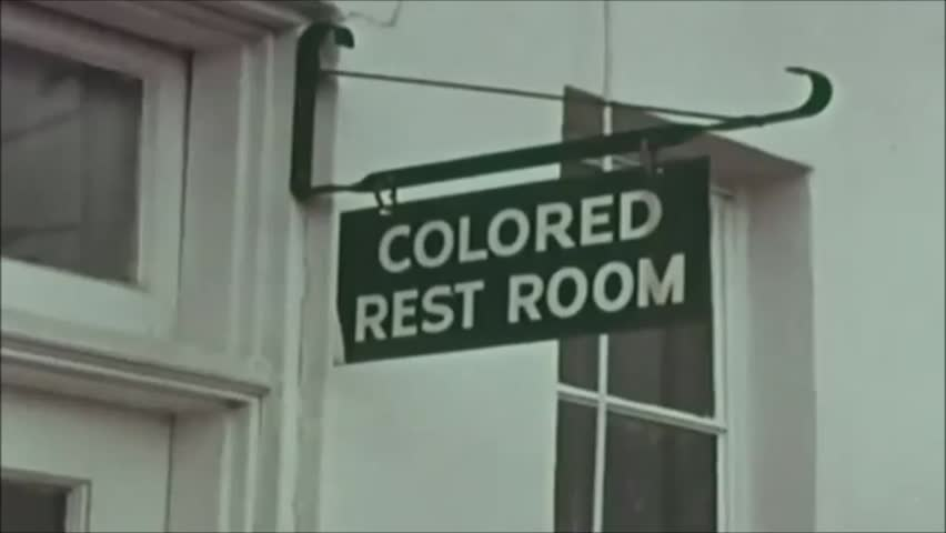Birmingham, Alabama. United States of America. About 1963. Apartheid. Signs of racial discrimination.