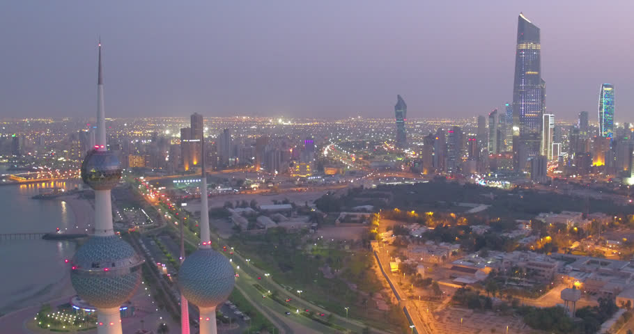 Kuwait City is the capital and largest city of Kuwait. Located at the heart of the country on the shore of the Persian Gulf.