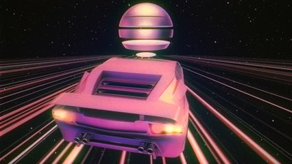Retro Futuristic Car VJ Loop - cool retro motion graphic with VHS style that will be perfect in your next retro parties. You can use this unique clip in business videos, commercials and statistic sli