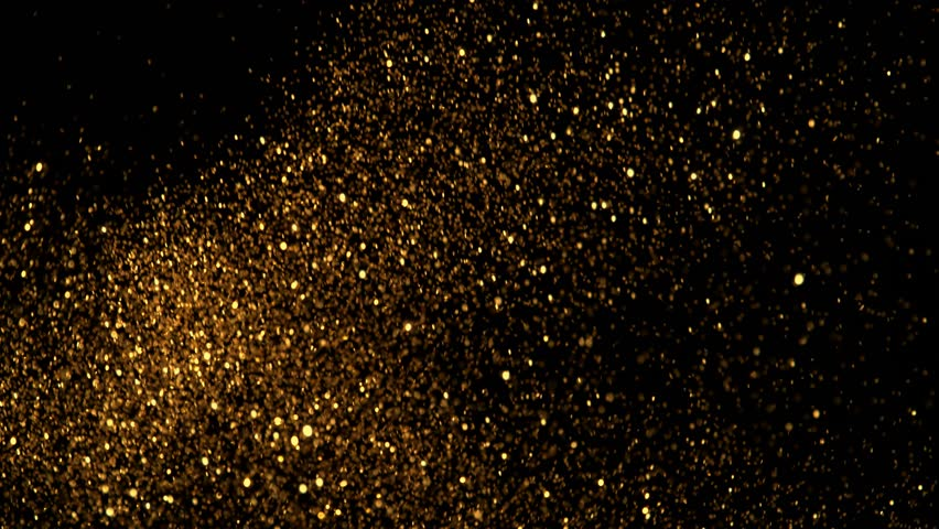 Golden glitter background in super slow motion shooted with high speed cinema camera at 1000fps 4K | Shutterstock HD Video #1020284269