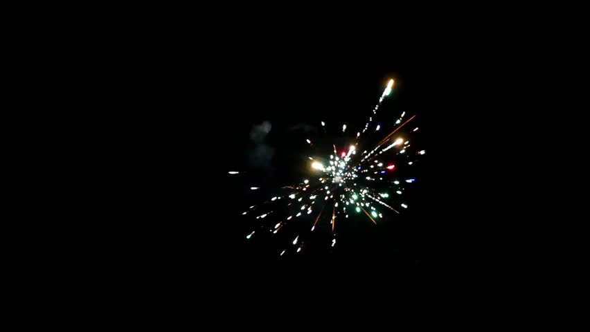 Element of set fireworks to create a videoabout the celebration.   Shutterstock HD Video #1020317965