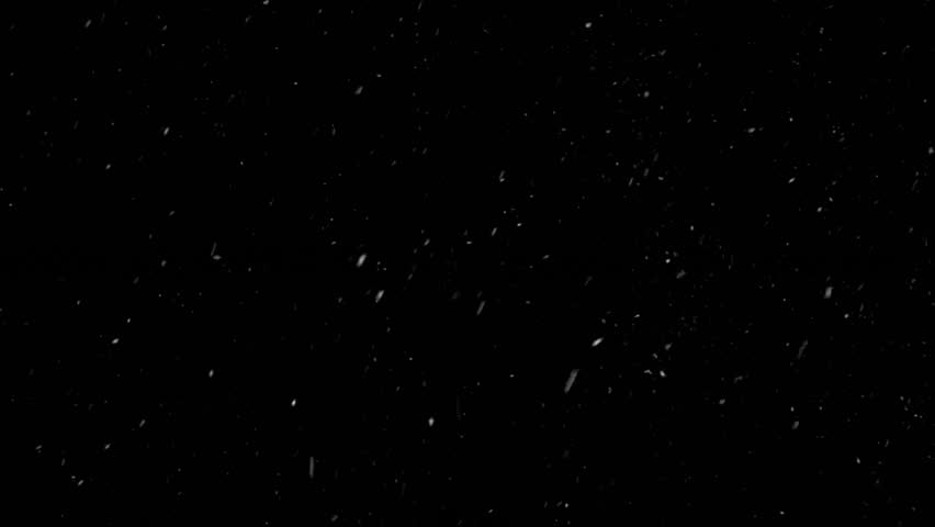New Year, christmas Frosty Background And Falling Snow Snowfall Snowflake Particles Seamlessly Loop Black Alpha Green Screen Animation #1020406003