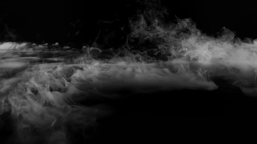 4K atmospheric smoke surround effect  FOG  CLOUD   Black background | Shutterstock HD Video #1020492655