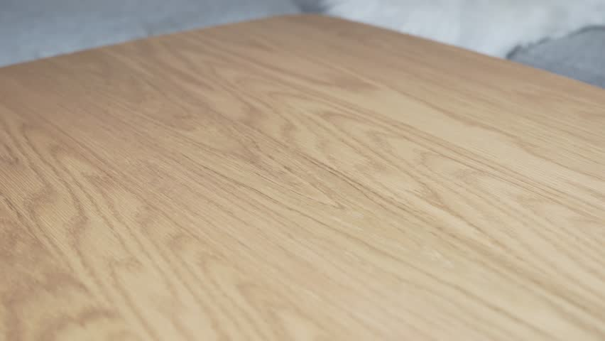 Cleaning table with a wet cloth #1020508465