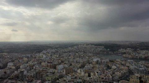 Malta - Aerial cityscape