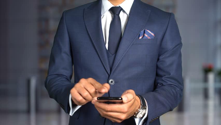 Businessman Hologram Concept Tech - CUSTOMER EXPERIENCE