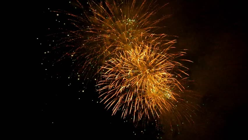 Fireworks at night | Shutterstock HD Video #1020995236