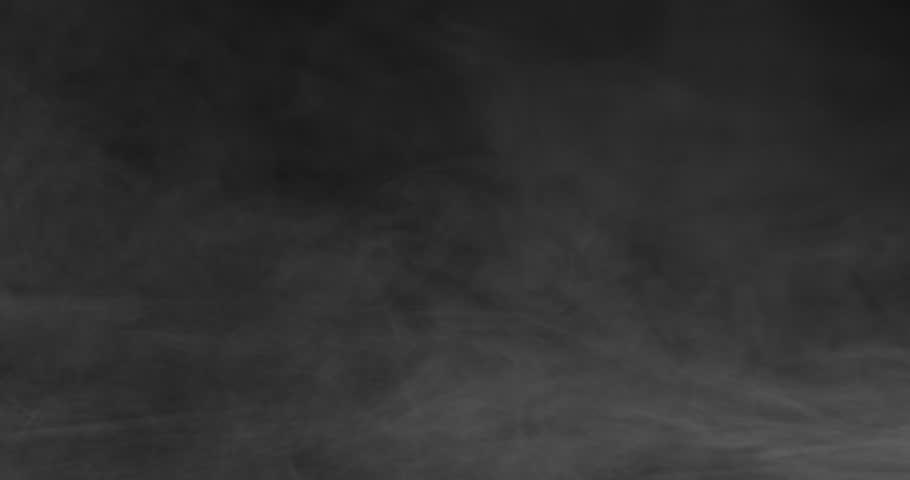 White cloud of smoke swirling on black background.   Shutterstock HD Video #1021128529
