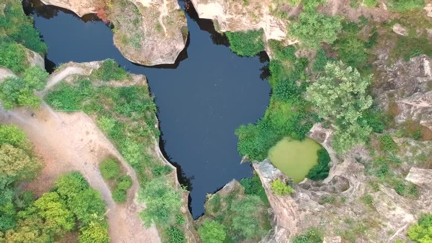 Lake Megyer-Hegyi in Hungary | Shutterstock HD Video #1021313179
