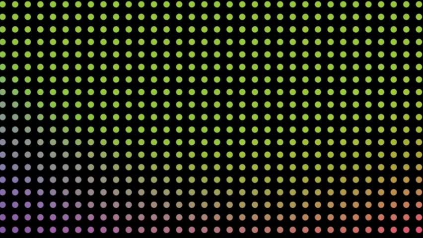 Seamless pattern of colorful circles with endless looping motion  | Shutterstock HD Video #1021326790