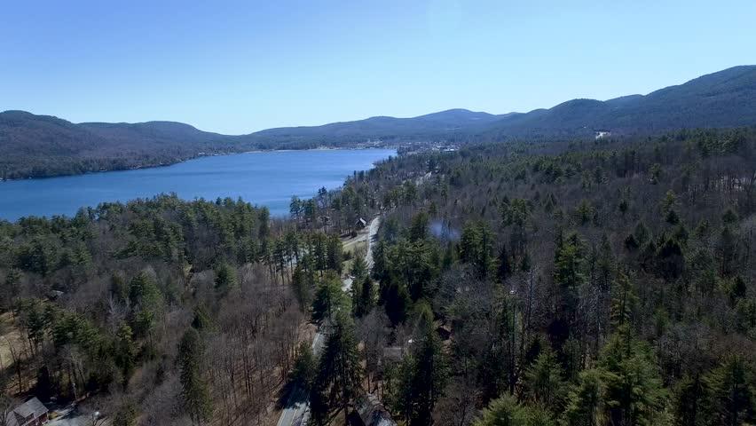 Adirondacks lake shore drive