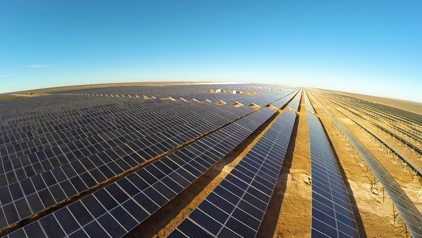 Solar panel farms in the Northern Cape | Shutterstock HD Video #1021335193