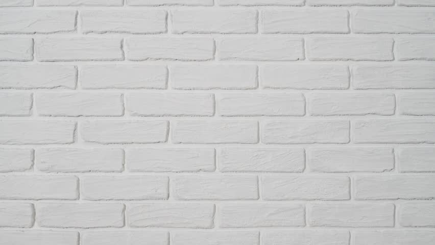 White Brick Wall As Background Stock Footage Video 100 Royalty Free 1021391785 Shutterstock