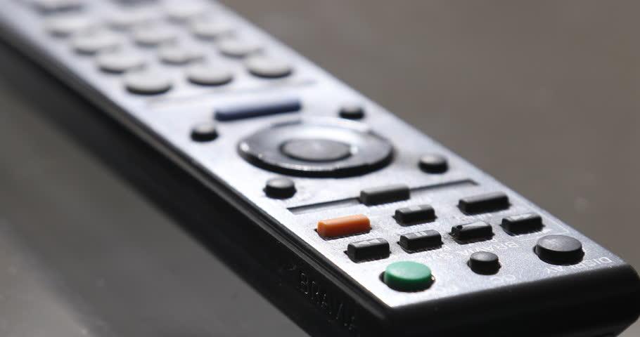 TV Remote Control 20th Nov 2018 Hyderabad India | Shutterstock HD Video #1021401970
