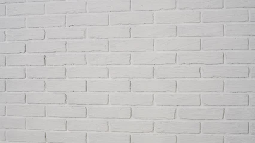 White Brick Wall With Corner Stock Footage Video 100 Royalty Free 1021453375 Shutterstock